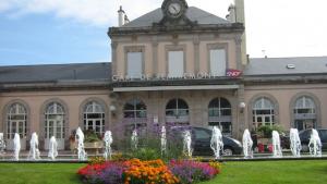 Gare la plus proche, à Remiremont