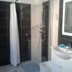 Douche moderne sans porte